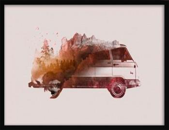 Quadro Drive Me Back Home No.1 de Robert Farkas