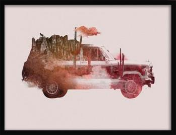 Quadro Drive Me Back Home No.2 de Robert Farkas