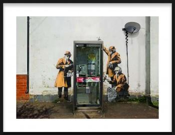 Quadro Fairview road and hewlett in cheltenham, Gloucestershire de Attributed to Banksy