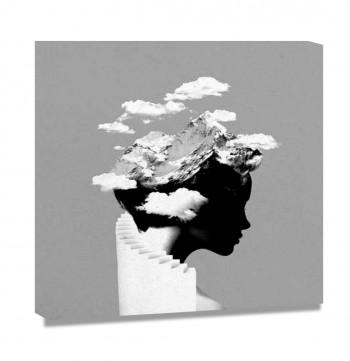 Tela Its a cloud day por Robert Farkas