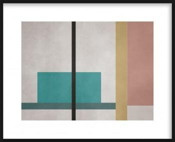 Quadro Lines and Squares 2