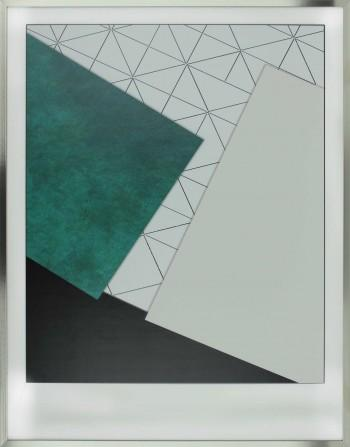 Triangle Green | 72x92