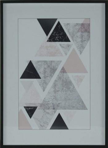 Marmorized Triangle 2 | 57x78