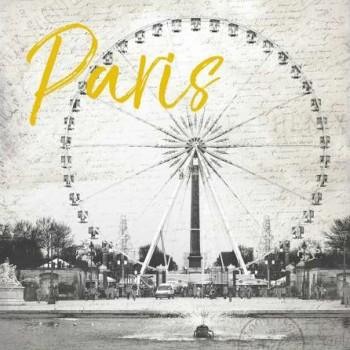 Roue De Paris Yellow de Jace Grey