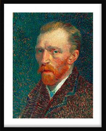 Quadro Self-Portrait de Vicent Van Gogh