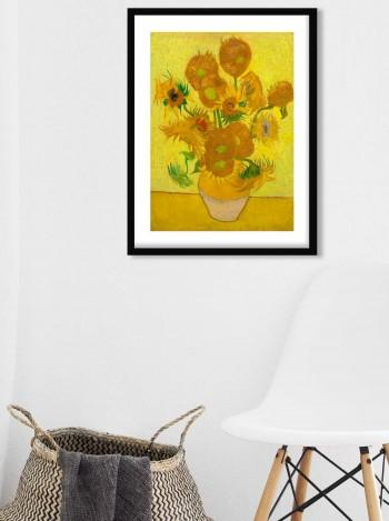 Quadro Sunflowers de Vicent Can Gogh