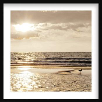 Quadro Sunset at the beach