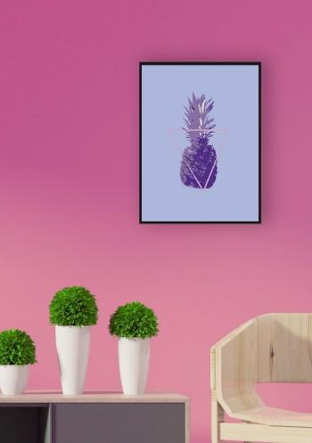 Quadro Purple Pineapple