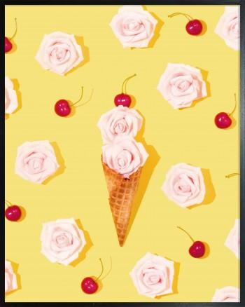Quadro Ice Cream Flower