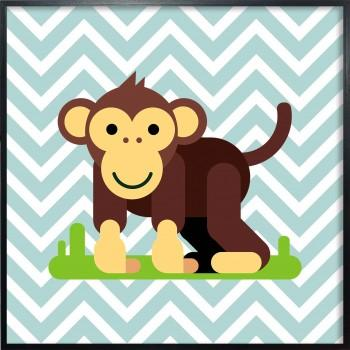 Quadro Little Monkey