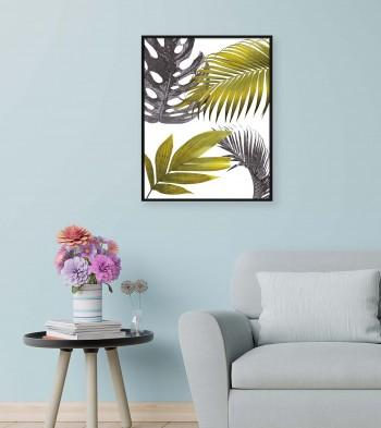 Quadro Miscellaneous Leaves I