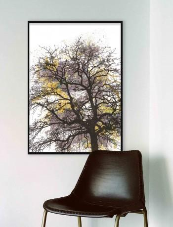 Quadro Painted Tree