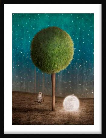 Quadro Tappy and the Moon
