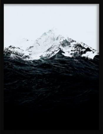 Quadro Those Waves Were Like Mountains de Robert Farkas