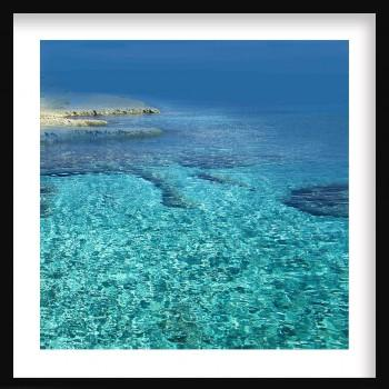 Quadro Transparent Sea