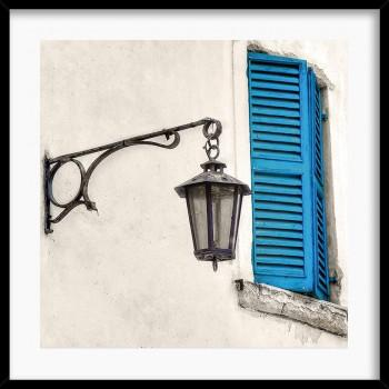 Quadro Window Blue P2547
