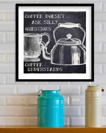 Quadro World Of Coffee de Taylor Greene