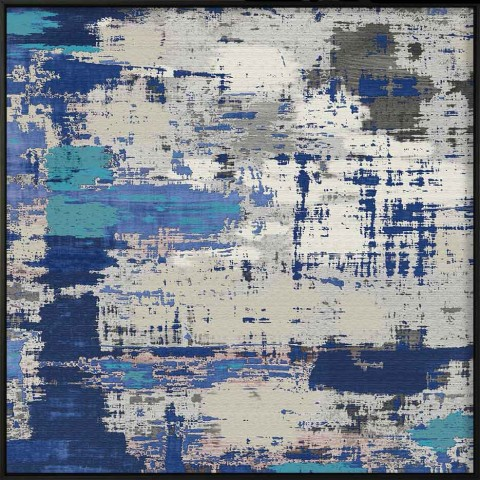 Painting in Blue  | 83x83